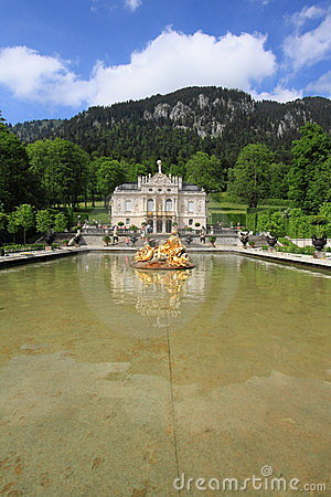 Linderhof Palace, Germany Editorial Image