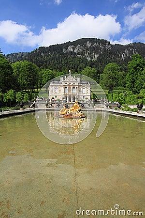 Linderhof Palace, Germany Editorial Image