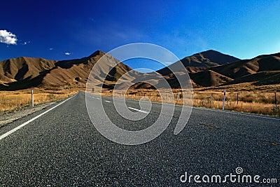 Lindis pass newzealand