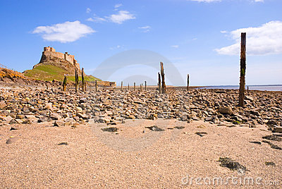 Lindisfarne Castle and beach I