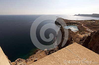 Lindos in Greece
