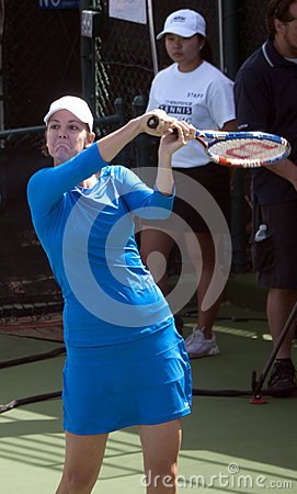 Lindsay Davenport at Harbor Point  Tournament Editorial Image