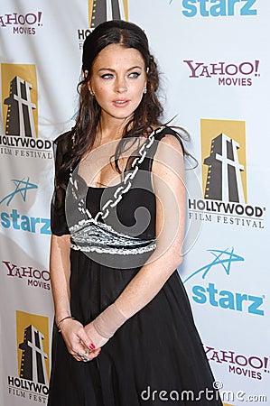 Lindsay Lohan Editorial Stock Photo