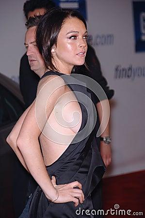 Lindsay Lohan Editorial Photo
