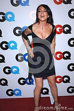 Lindsay Lohan Editorial Image