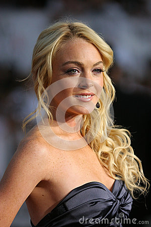 Lindsay Lohan Editorial Photo