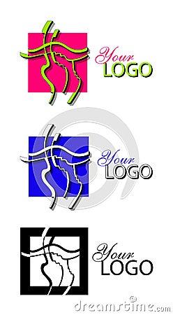 Line art logo
