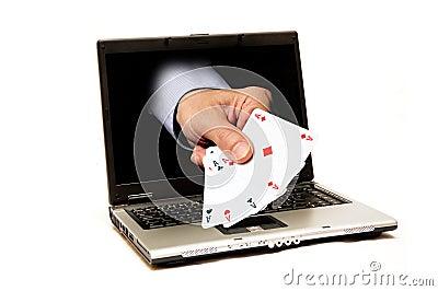 On-line gambling