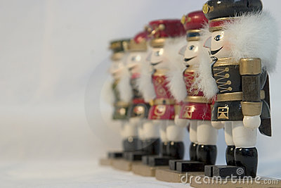 A Line of Nutcrackers