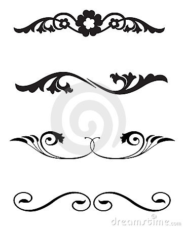 Line Rule Ornaments