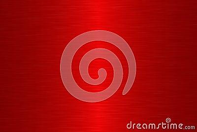 Linear brush metal - Red