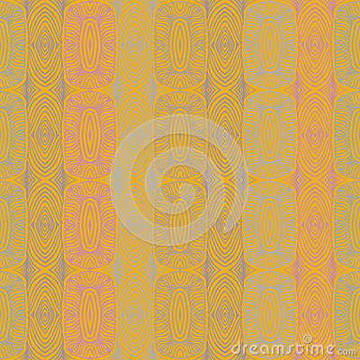Linear ethnic vector pattern with mexican motifs