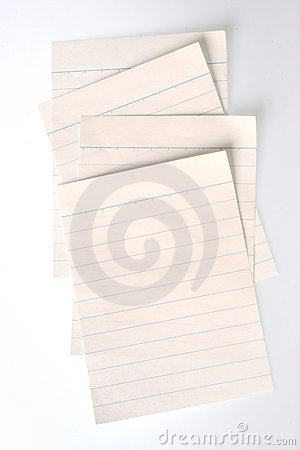 Lined Notebook Paper (with clipping paths)