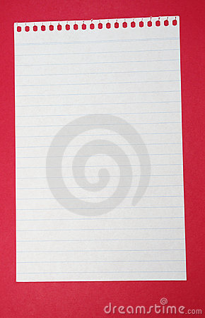 Free Lined Paper Stock Image - 13369261