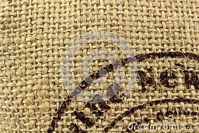 Linen burlap texture