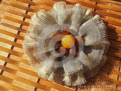Linen fabric band