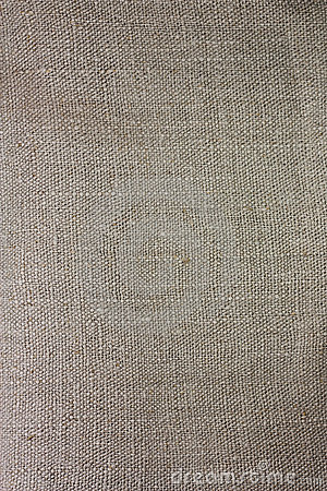 Linen gray fabric closeup