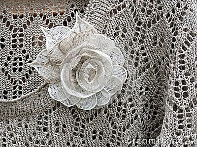 Linen knitted shirt