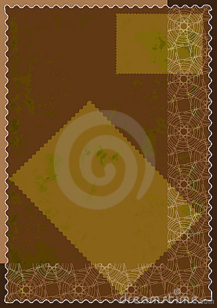 Lines Seamless Grunge Old Paper Stamp_eps