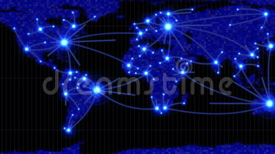 Lines showing countries connecting on world map stock video video lines showing countries connecting on world map stock video video of connectivity animation 40066481 gumiabroncs Gallery