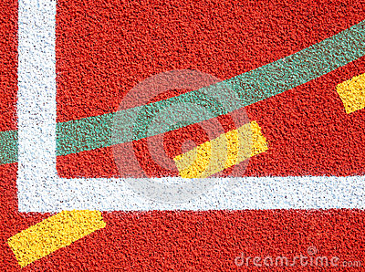 Lines of sports fields
