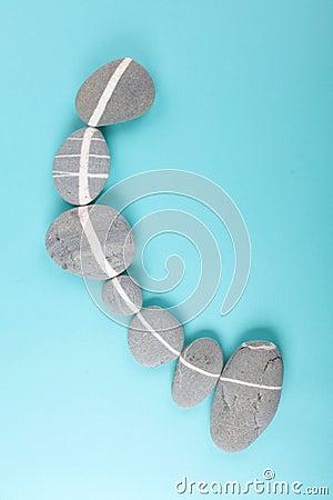 Lineup rocks
