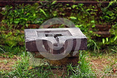 Lingam Shiva stone for worship in Hindu temples