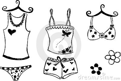 Lingerie Illustration