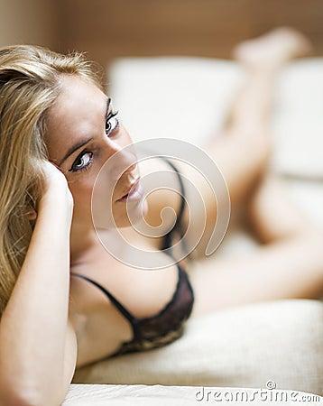 Lingerie sexy girl