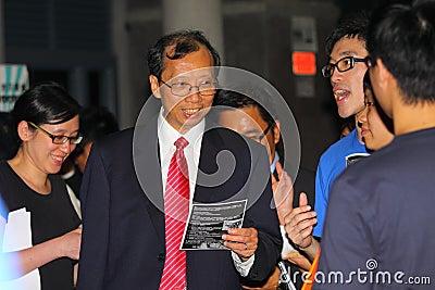 Lingnan University new student orientation. Editorial Photo