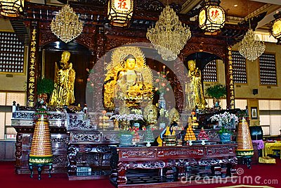 Lingyen Mountain Temple, inside Editorial Photography