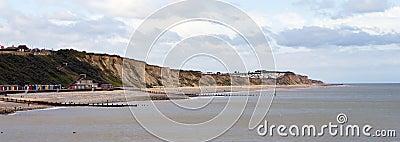 Linha costeira de Cromer