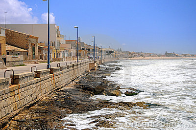 Linha costeira siciliano