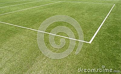 Linha marcações do passo dos esportes