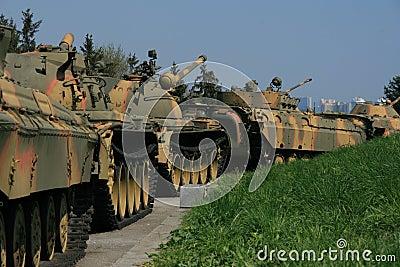 Linha soviética do tanque