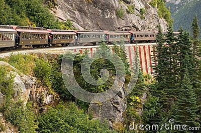 Linia kolejowa sceniczna alaska