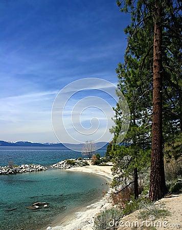 Linii brzegowej tahoe