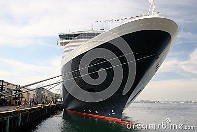 Liniowa rejsu statku oceanu wakacje