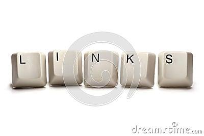 Links - computer keys