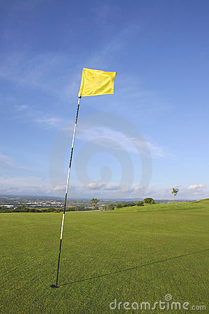 Links Golf Flag