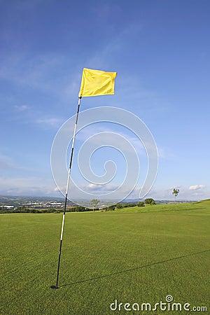 Free Links Golf Flag Stock Photos - 330943