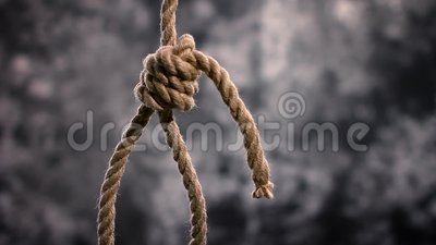 Linowy slipknot w pojęcia samobójstwa zakończenia strzale zbiory
