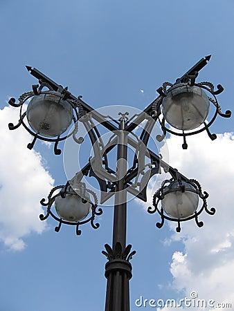 Linterna moderna