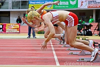 Linz Indoor Track and Field Meeting Editorial Image