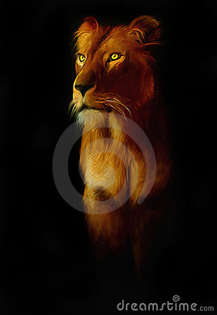 Free Lion Royalty Free Stock Photo - 6835725