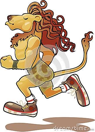 Lion athlete