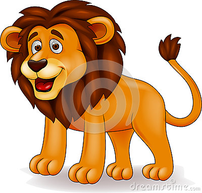 Free Lion Cartoon Royalty Free Stock Photos - 26990518