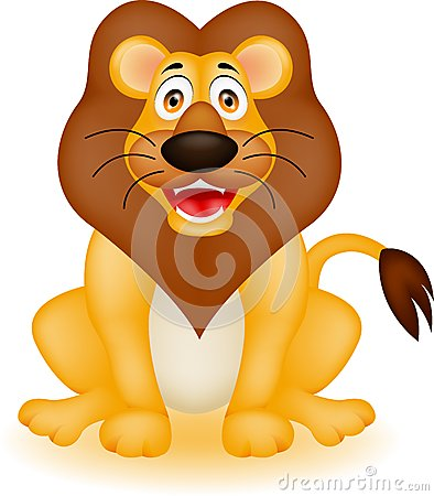 Free Lion Cartoon Royalty Free Stock Photography - 28312717