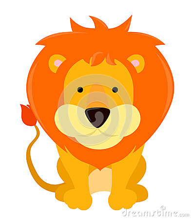 Free Lion Cartoon Royalty Free Stock Photo - 35723355