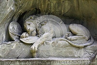 Lion de Luzerne